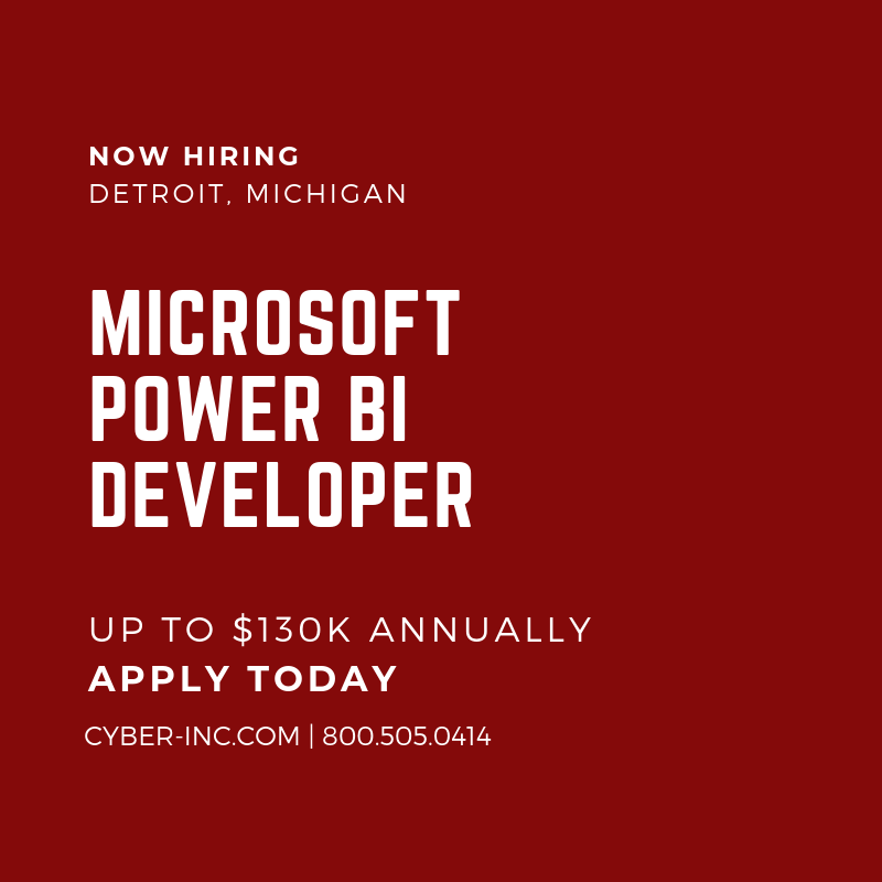 Microsoft Power BI Developer