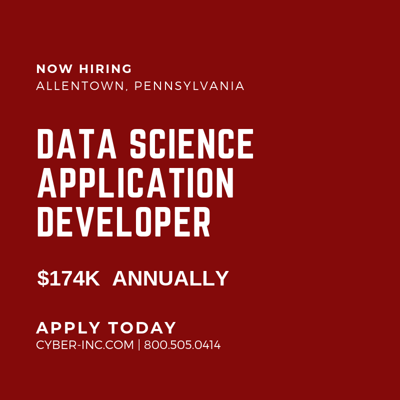Data Science Application Developer
