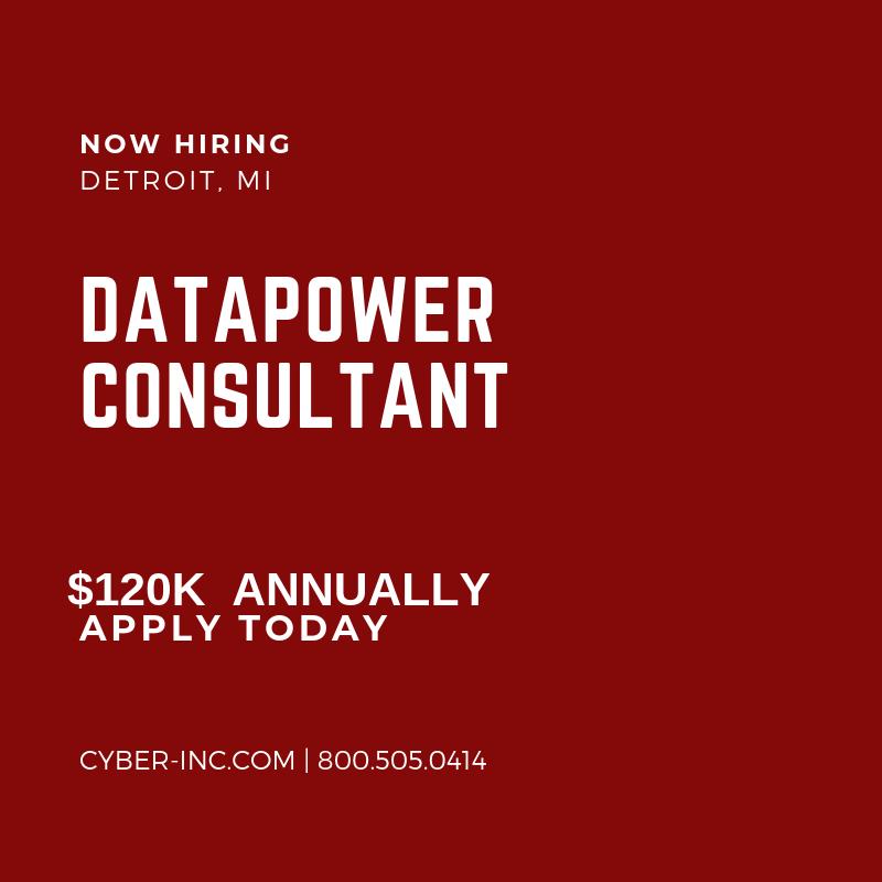 DataPower Consultant Detroit