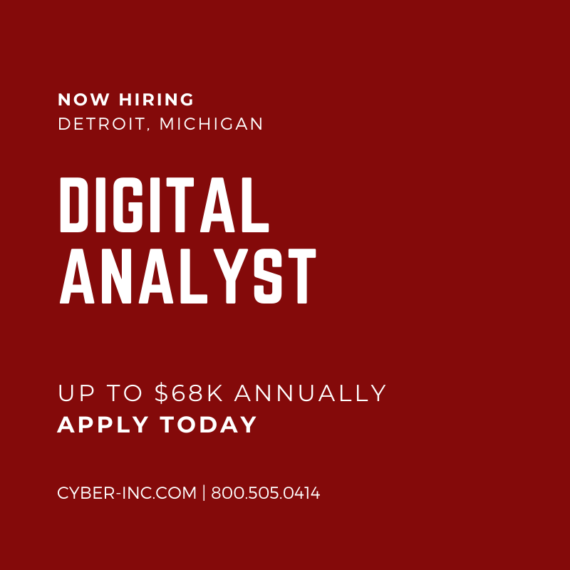 Digital Software Analyst Detroit, MI