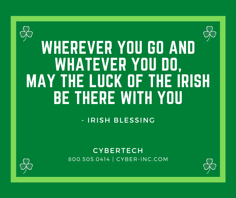 Luck of the Irish Blessing