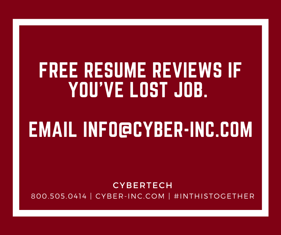 Free Resume Reviews If You've Lost Job