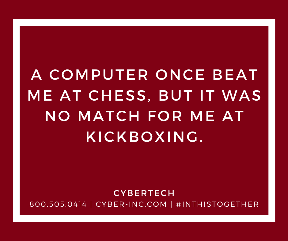 Friday Funny Computers Chess Kickboxing