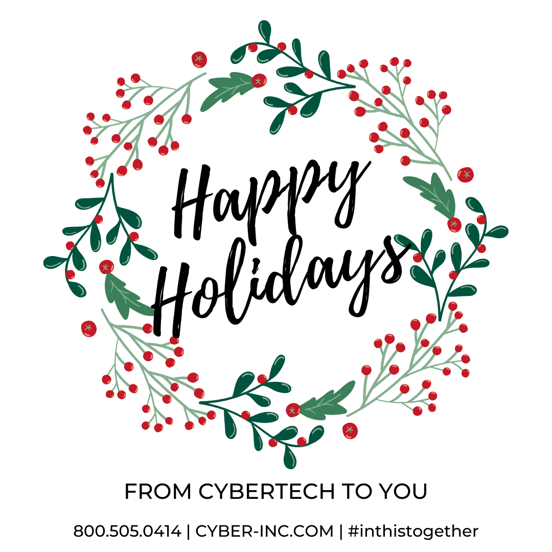 Happy Holidays from Cybertech