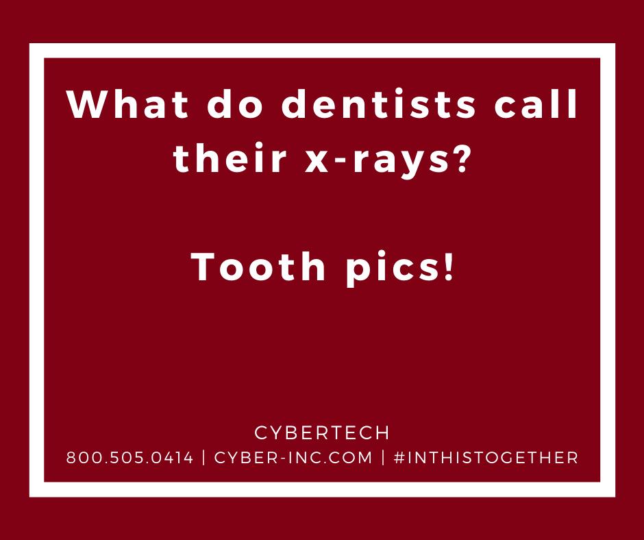 Friday Funny Dentists X-Rays  #ITJobs #EngineeringJobs #OpenToWork